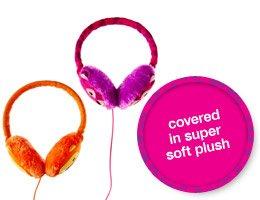 covered in super soft plush