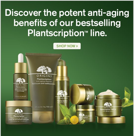 Discover the potent anti aging benefits of our bestselling Plantscription line SHOP NOW