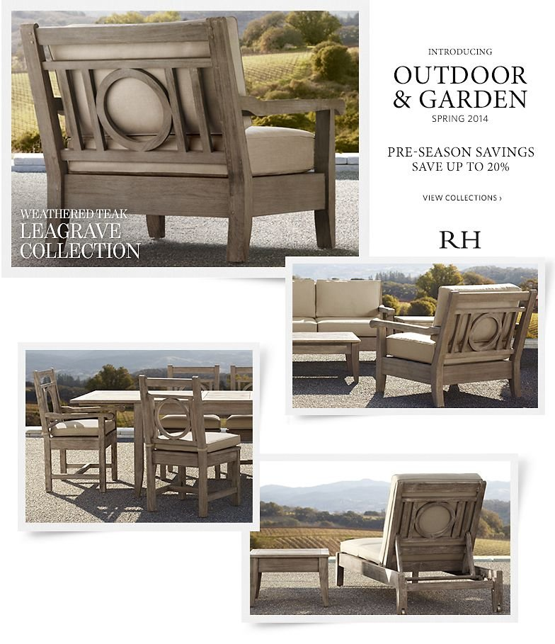 Introducing Outdoor and Garden Spring 2014 - Save up to 20% - Pre-season Savings