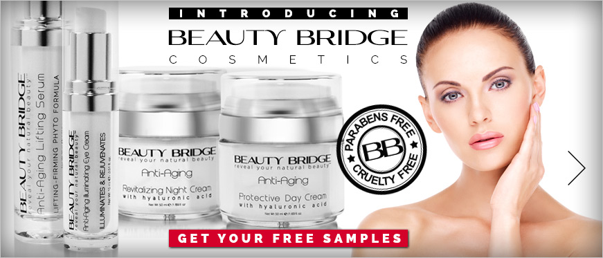 Introducing Beauty Bridge Anti-Aging Cosmetics