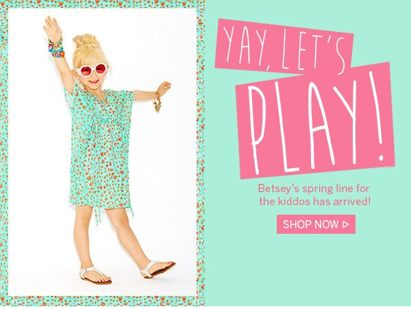 Yay, Let's Play! Shop Now