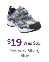 $19 Was $55 Mercury Silver, Blue