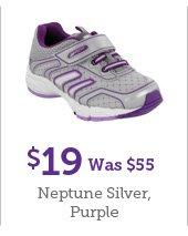 $19 Was $55 Neptune Silver, Purple