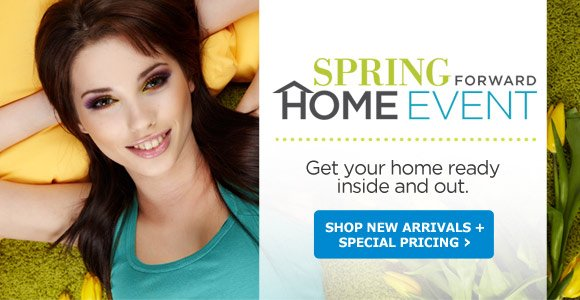 Spring Forward Home Event