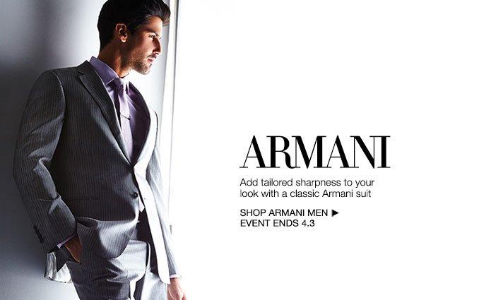 Shop Armani- Men