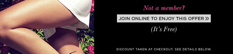 Join Online TOday TO Enjoy This Offer