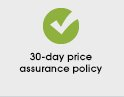 30-day price assurance policy