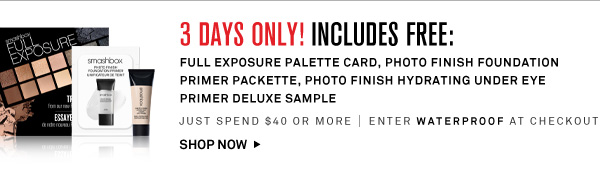 3 Days Only! GWP
