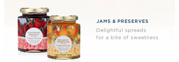 Jams & Preserves: Delightful spreads for a bite of sweetness