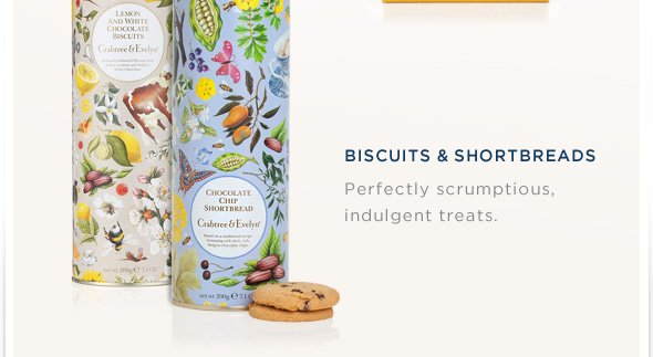 Biscuits & Shortbreads: Perfectly scrumptious, indulgent treats