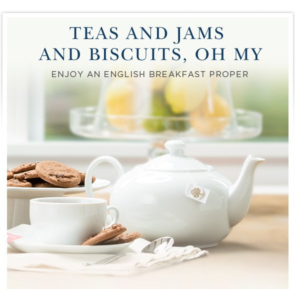 Teas and Biscuits, Oh My