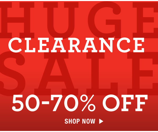 Shop Clearance 50-70% off