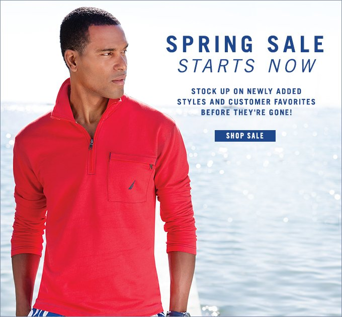 Spring Sale Starts Now!