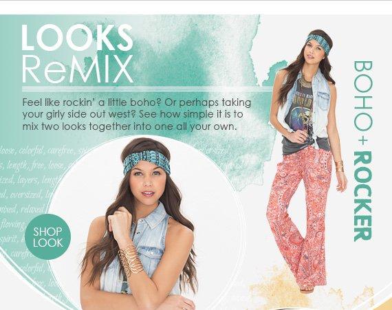 Shop Boho Rocker Look
