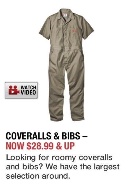Shop Coveralls & Bibs