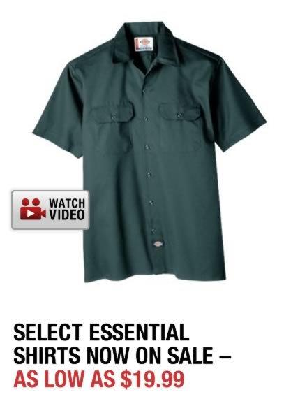 Shop Dickies Shirts