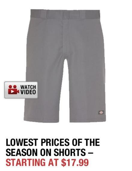 Shop Dickies Shorts