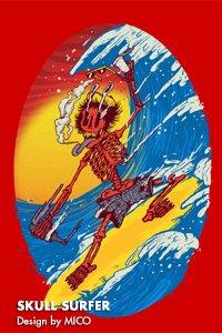 Skull Surfer Design by MICO