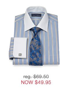 2-Ply French Cuff Dress Shirts