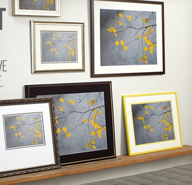Find Art You Love and Frame It To Suit Your Style