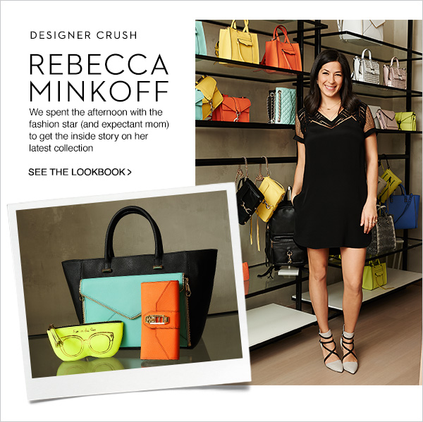 We spent the afternoon with Rebecca Minkoff to get the inside story her latest collection. Shop Now!