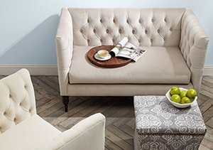 Upholstered Style: Tufts, Tucks & More