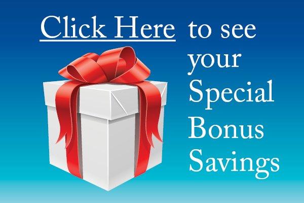 Bonus Savings Inside
