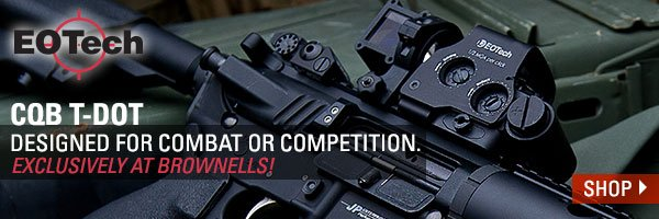 EOTech CQB T-Dot Designed for combat or competition Exclusively at Brownells!