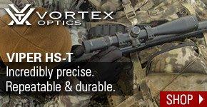 Vortex Optics Viper HS-T Incredibly precise. Repeatable & durable.