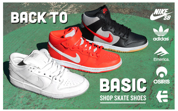 Back to Basics: Skate Shoes