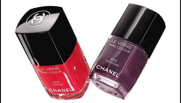 HIT SINGLES New Spring shades dress nails in luminous  colour. From COLLECTION NOTES DE PRINTEMPS.