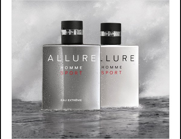 ALLURE, UNLIMITED Brisk and casual. Bold and aromatic.  Capture the spirit of masculinity with two invigorating scents.