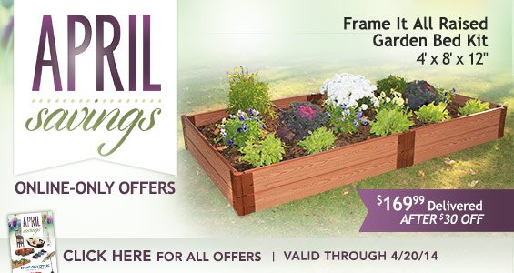Costo Time To Get Outdoors Save On Raised Garden Bed Kit