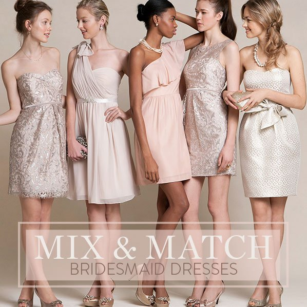 Nordstrom: Mix & Match Bridesmaid Dresses For Your Dream