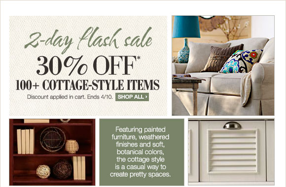 Home Decorators Collection 2 Day Flash Sale 30 Off Cottage Style Items Milled