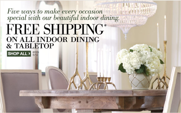 Home Decorators Collection: Our Top 5 Dining Essentials For