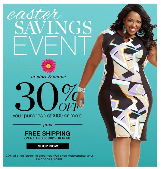Ashley Stewart: NEW. HOT. NOW. Take 30% Off New Arrivals
