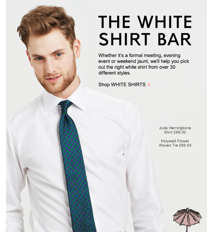 Thomas Pink: White Shirts | A look for every occasion | Over 30 ...