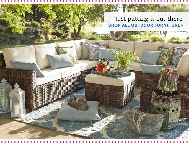 Pier 1 Entertain The Thought Of Outdoor Fun Milled