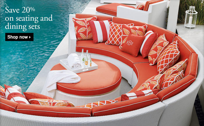 Frontgate Rewards | Shop SiteSave 20% On Seating And Dining Sets Wide And  Receive Up