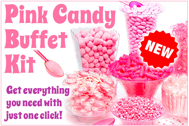 candywarehouse com one click pink candy buffet milled rh milled com candy buffet kits mint green candy buffet kit party city