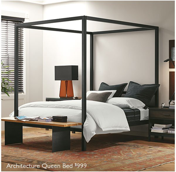 architecture queen bed 999