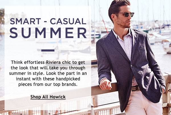 Your perfect smart-casual summer look