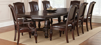 Attirant Addison 9 Piece Dining Set