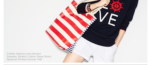 We're hooked on all things nautical,
