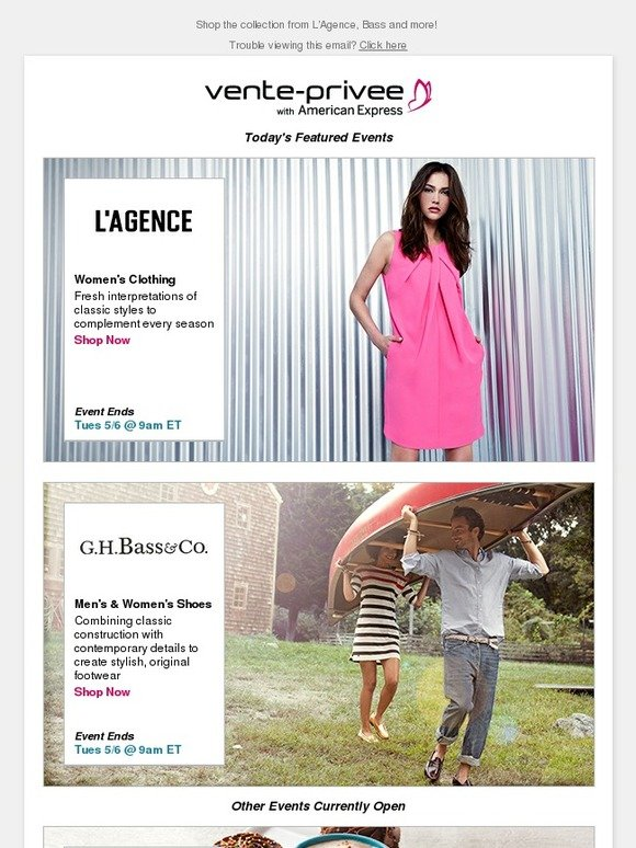 Vente Privee Email Newsletters Shop Sales Discounts And