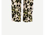 Stone Floral Tapered Trousers