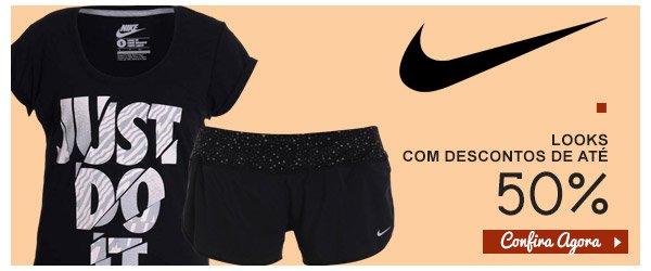 Nike - Vestuario com ate 50% de Desconto