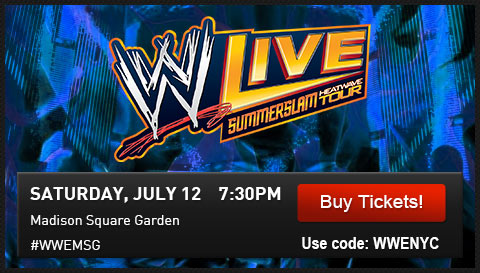 Wwe Shop Here Is Your Presale Password For Wwe Live At Msg Milled