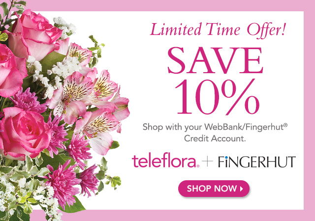 Fingerhut teleflora coupon code